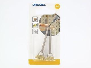 Dremel 2.615.053.6JA Cepillo de latón forma de vaso 13 mm diámetro