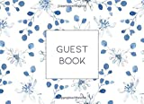 Guest Book: Sign in book for weddings, anniversaries, bridal showers, baby showers, celebration birthdays, visitors, memorial and funeral services, business functions, retirement, house rentals.