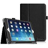 Fintie Apple iPad Mini 1/2 / 3 Hülle - Slim Fit Foilo Kunstleder Schutzhülle Tasche Etui Case Cover mit Auto Schlaf/Wach, Standfunktion für iPad Mini 3/2 / 1, Schwarz