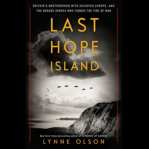 Last Hope Island audiobook cover art