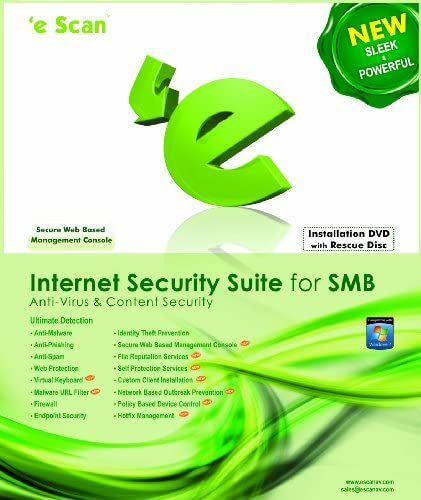 eScan Internet Security Suite ISS for SMB 20 users 3 years Download product image