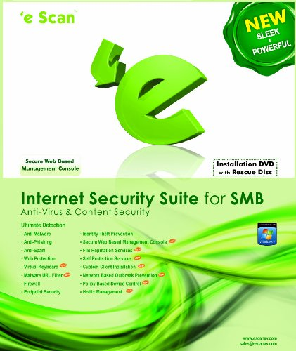 eScan Internet Security Suite ( ISS) for SMB 5 users 3 years...