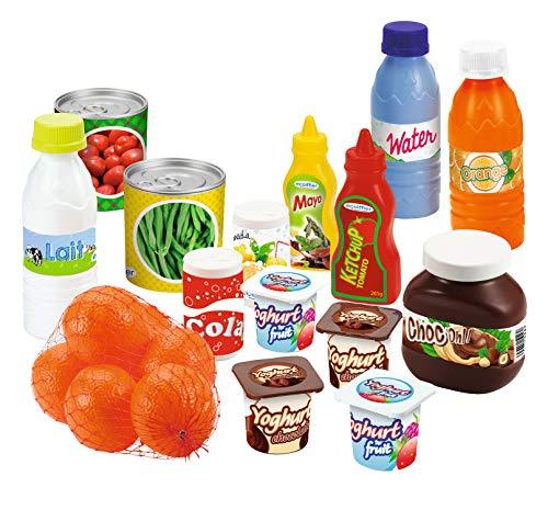 Ecoiffier- Box Alimenti Vari, 7600002644