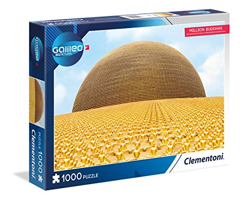 Clementoni 59089Million Buddhas Puzzle 1000T Galileo