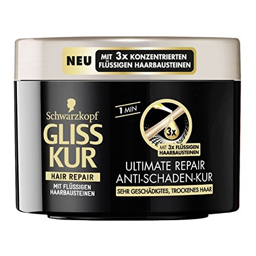 Gliss Kur Ultimate Repair Anti-Damage Hair Mask (Packaging May Vary)