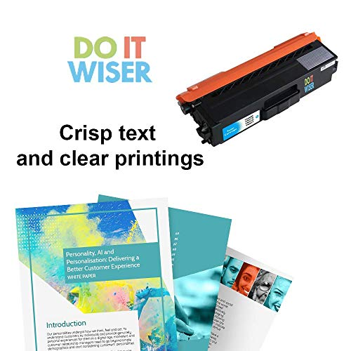Do it Wiser Compatible Brother TN336 TN315 TN310 TN331 High Yield Toner Cartridge for Brother MFC-L8600CDW HL-L8350CDW MFC-L8850CDW MFC-9970CDW HL-4150CDN Printer (Cyan 3,500 Pages) Photo #4