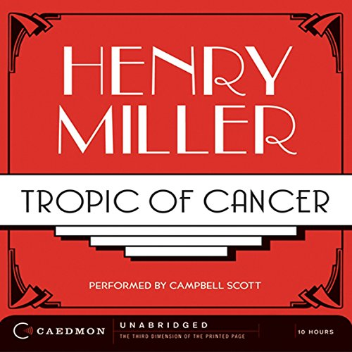 Couverture de Tropic of Cancer