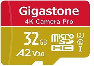 【5年保証】Gigastone 32GB マイクロSDカード A2 V30 4K Camera Pro Gopro Nintendo Switch 対応 4K UHD 撮影 95MB/s UHS-I U3 Class 10 micro sd カード