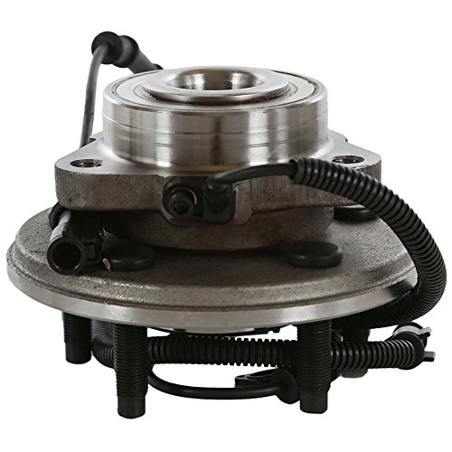 AutoShack HB615080 Wheel Bearing Hub Front Driver or Passenger Side Wheel Hub Bearing and Assembly 5 Lugs with ABS Replacement for 2006-2010 Ford Explorer 2007-2010 Explorer Sport Trac