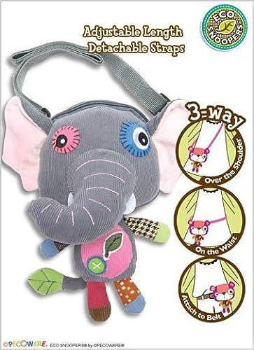 Pecoware Eco Snoopers Flip Flop Elephant - Purse by PECO