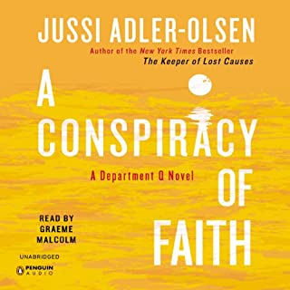A Conspiracy of Faith audiobook cover art