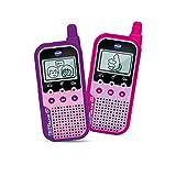 Vtech Kidi Talkie - Walkie-Talkie para niños con Pantalla y Juegos, Juguete electrónico Educativo