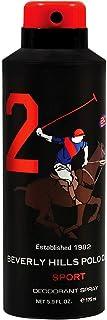 Beverly Hills Polo Club Sports Deodorant for Men 2, 175ml
