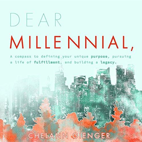 Dear Millennial, audiobook cover art