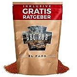 BBQ Rub El Paso 80g | Trockenmarinade für Pulled Pork & Spareribs inkl. Gratis Ratgeber | Gewürzmischung Grillgewürz Barbecue Marinade Grill Gewürz
