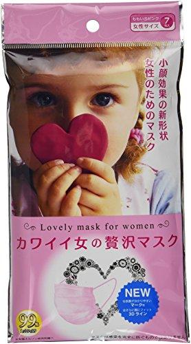カワイイ女の贅沢マスク 7枚袋