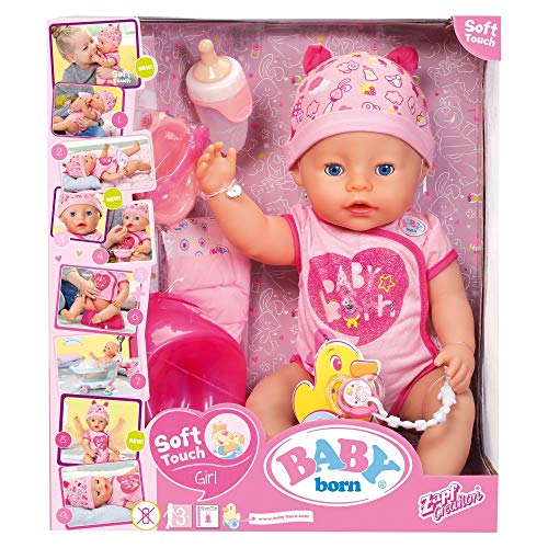 Baby Born Soft Touch - Fille 43cm