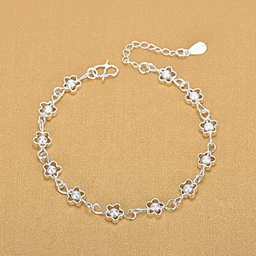 Holle armbanden van 925 sterling zilveren parels van subtiele armbanden voor vrouwen