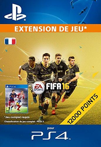 12 000 Points FIFA 16 [Extension De Jeu] [Code Jeu PSN PS4 - Compte français]