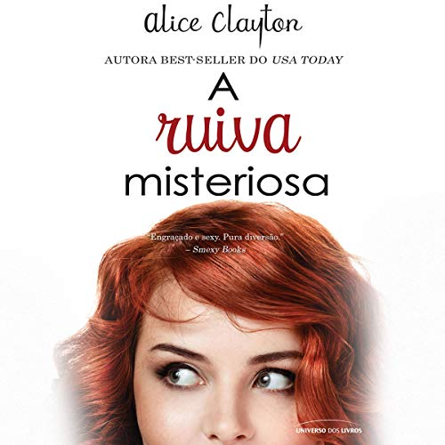 A ruiva misteriosa [The Unidentified Redhead] audiobook cover art
