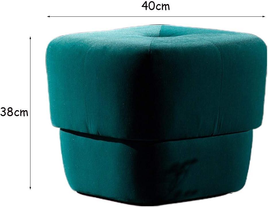 CAO-LIFE Repose-pieds Repose-pieds pouffe Cube Ottoman en forme de Puffs Repose-pieds Table thé Tabouret (Color : 05) 05