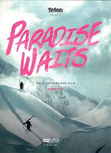 Paradise Waits Ski & Snowboard DVD and Blu-ray with FREE Bonus Back Catalog Snow DVD ($30 Bonus)