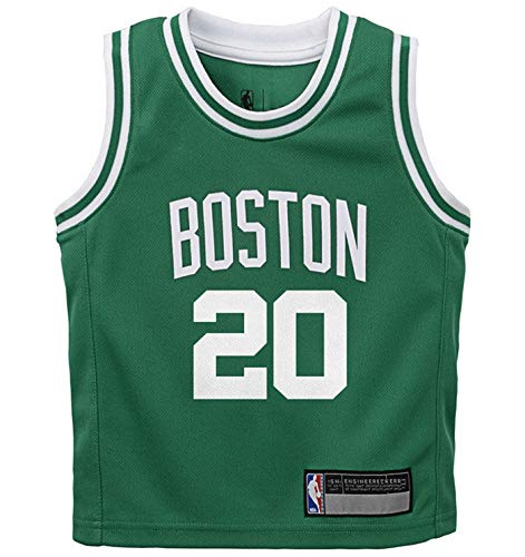 NBA Kids 4-7 Official Name and Number Replica Home Alternate Road Player Jersey (5/6, Gordon Hayward Boston Celtics Green)