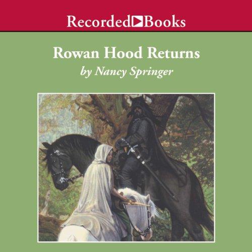 Rowan Hood Returns audiobook cover art