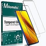 Milomdoi [2 Pezzi] Vetro Temperato per Xiaomi Mi 10T Lite/Mi 10T/Mi 10T PRO/Poco X3 NFC/Note 9s/Note 9 PRO, Pellicola Protettiva HD Chiaro Anti Graffio Durezza 9H [Senza Bolle] [Anti-Impronte]