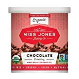 Miss Jones Baking Organic Buttercream Frosting, Chocolate (Pack of 1)