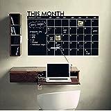 Romote Este Mes Calendario Pizarra Pegatinas de Pared
