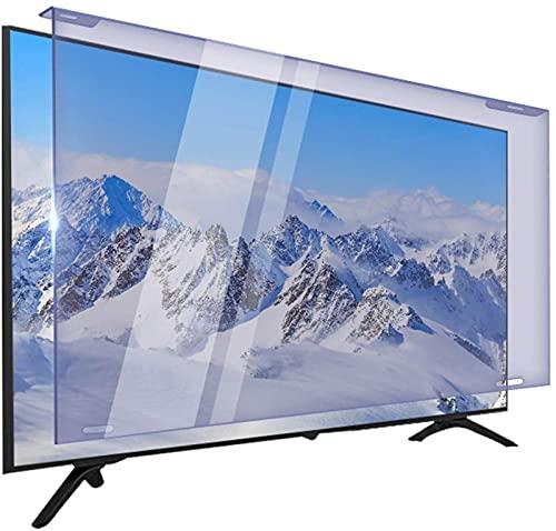 Filtro De Luz Anti Azul Acrílico para 32-75 Pulgadas Universal Widescreen PC LED Monitor Panel Anti-UV Y Anti-radiación TV Protector De Pantalla (Color : Light Yellow, Talla : 65 Inch 1439 * 844mm)