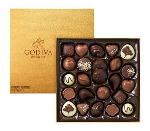 Godiva Gold Rigid Schachtel, 24 Stück WHS, 290 g