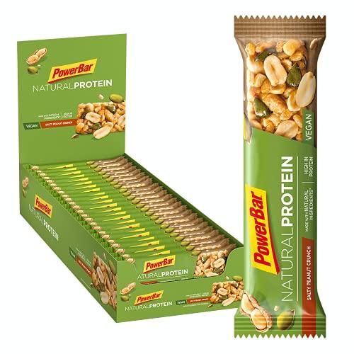 Powerbar Natural Protein Salty Peanut Crunch 24 x 40 g - Vegan Protein baton + naturalne składniki, PB41.PEA