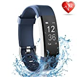 Fitness Tracker with Heart Rate Monitor, Lattie Smart Watch Activity Tracker Pedometer Sports