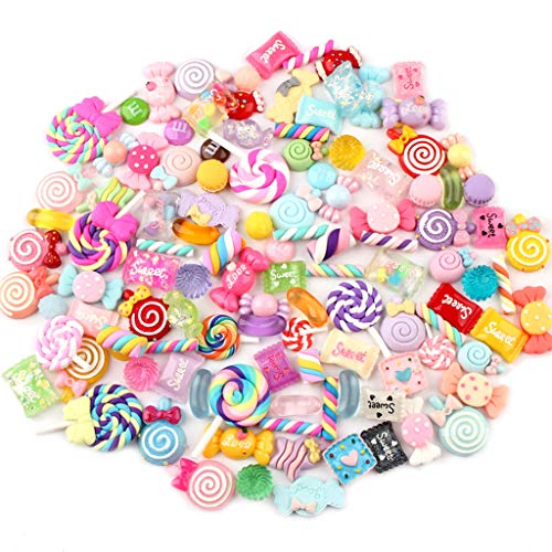 YO-HAPPY Candy Resin Perlen Obst Dessert EIS Plastikscheiben Handwerk Handwerk Zubehör