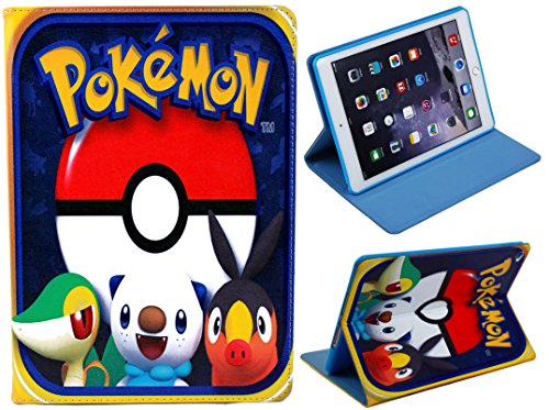 For iPad 2 3 4 Great Pokemon Pikachu Fun Kids Cartoon Case Cover