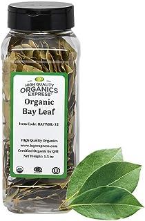 Sponsored Ad - HQOExpress | Organic Bay Leaf Whole | 1.5 oz. Chef Jar