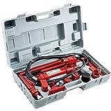 VEVOR 2.0M Porta Power Juego de Herramientas de Reparación de Gatos Hidráulicos Power Set Auto Tool 6 Ton Perfecto para Reparación de Carrocería, Reparación de Cuadros y Construcción