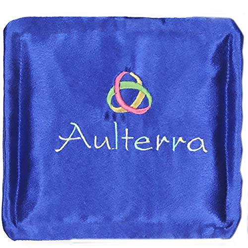 Aulterra Energy Pillow EMF Protection and Grounding to Neutralize Harmful Incoherent EMF Frequencies Including 5G (Blue)