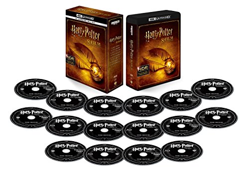 Harry Potter 8 Film Collection  4K Ultra HD & Blu-ray set( 16 Pieces Set) [Blu-ray]