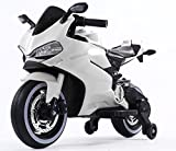 Toy House Ducati Panigale Bike Rechargeable Battery Operated Ride-on for Baby Boy's