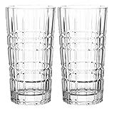 Leonardo - Gin - Gin Tonic Glas, Longdrinkglas, Becher hoch - Ginglas - Glas - 400ml - 2 er Set