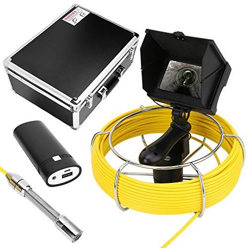 Cámara de inspección y mantenimiento de tuberías de mano micro, mantenimiento de tuberías subterráneas Drenaje de tuberías ocultas Monitor de endoscopio industrial(20m)