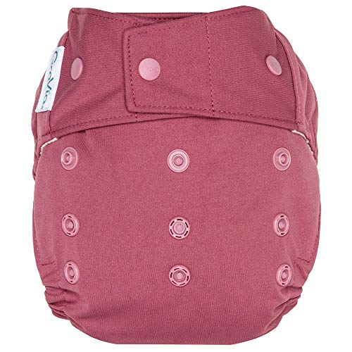 GroVia Reusable Hybrid Baby Cloth Diaper Snap Shell (Petal)