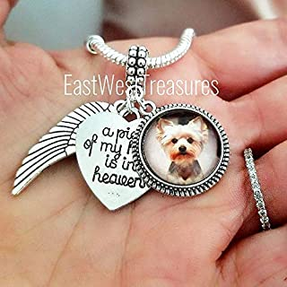 personalized dog memorial necklace