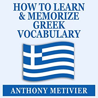 How to Learn and Memorize Greek Vocabulary cover art