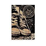 AAOO Ramones Shoes.webp Poster dekorative Malerei Leinwand