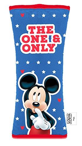 Disney 9607 Sicherheitsgurt Auflage-einfach mit einem Klettverschluß zu schließen-hält sicher am Gurt fest. Material Samt Plüsch: 100{6b3a42348a0d2e0431cda36e9a7b7b6ff7a2960a2450974f7de005435bcfd0e5} Polyester, universal verwendbar für alle Auto´s und Kindersitze