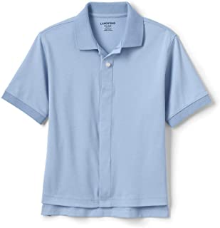 blue school polo shirts